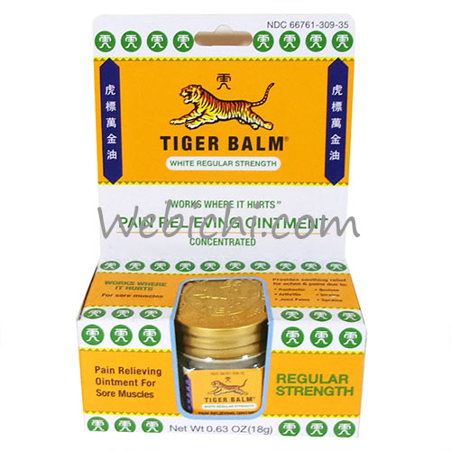 Haw Par Healthcare Ltd TIGER BALM Ointment White (soft)