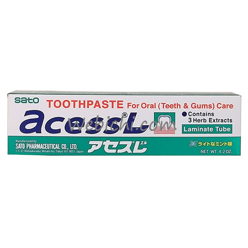 Sato Pharmaceutical ACESS L Toothpaste 125g