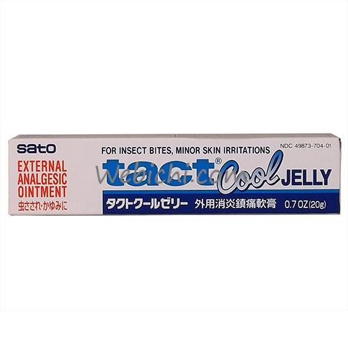 Sato Pharmaceutical SATO Anti Itch Tact Cool Jelly