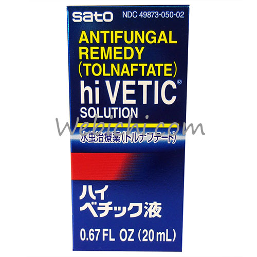 Sato Pharmaceutical HI VETIC Anti Itch Hi Vetic Solution 20ml