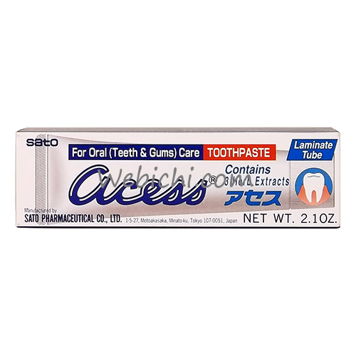 Sato Pharmaceutical ACESS Toothpaste 60g