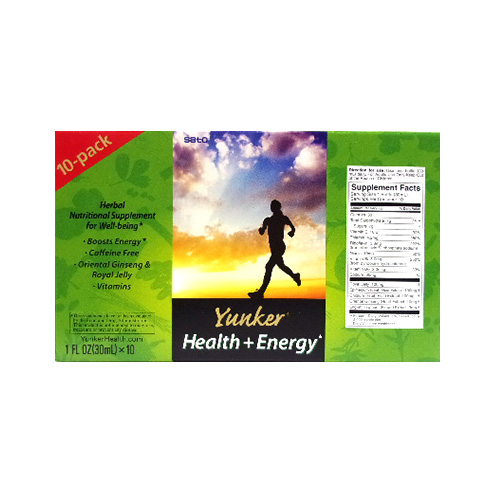 Sato Pharmaceutical YUNKER Health+energy 10pack