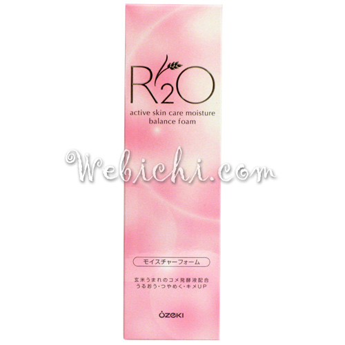 Ozeki R2O Moisture Face Wash Foam