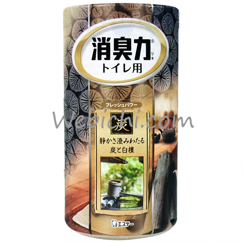 St SHOSHU-RIKI Deodorizer For Toilet Charcoal & Sandalwood