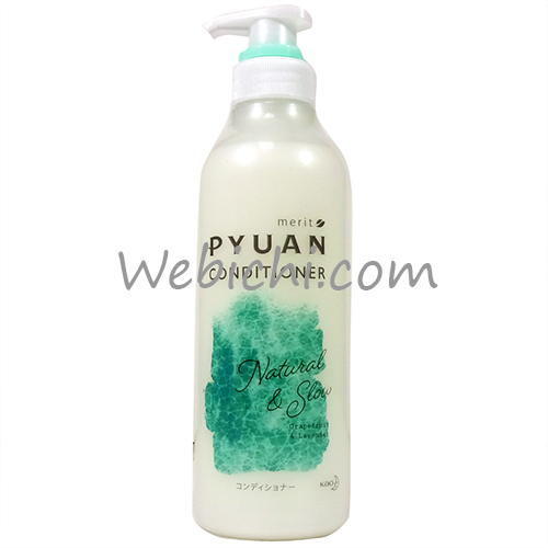 Kao MERIT PYUAN Natural&slow Conditioner 425ml