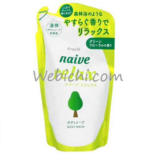 Kracie NAIVE Body Soap Relax Refill