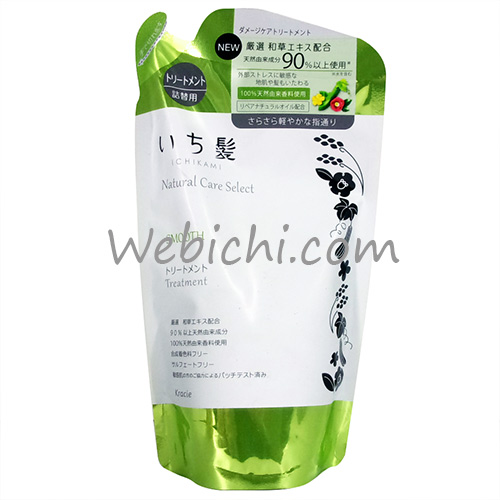 Kracie ICHIKAMI Natural Care Select Smooth Treatment Refill