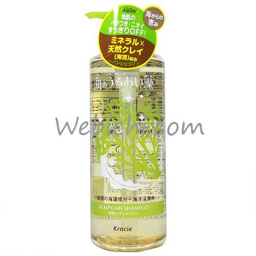 Kracie UMINO URUOI SO Scalp Care Shampoo Pump