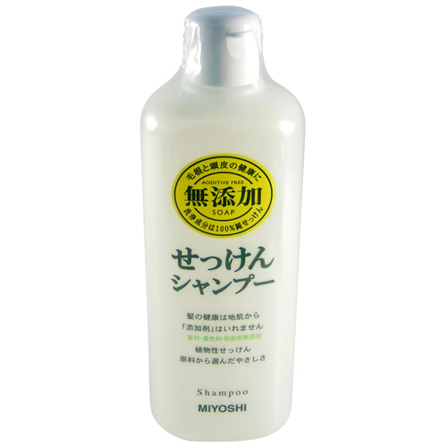 Miyoshi MUTENKA Soap Shampoo Non-additive