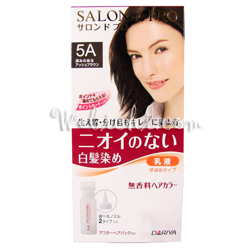Dariya SALON DE PRO Hair Color Non Smell #5a Deep Ash Brown