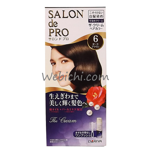 Dariya SALON DE PRO The Cream Hair Color #6 Dark Brown