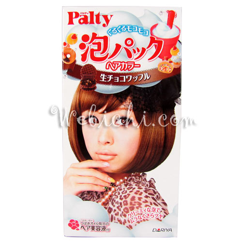 Dariya PALTY Bubble Pack Hair Color Chocolate Waffle