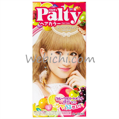 Dariya PALTY Hair Color Tiramisu Chiffon
