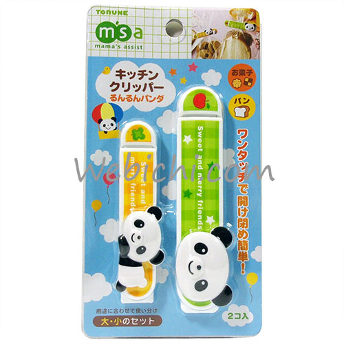 Torune MAMAS ASSIST Plastic Bag Sealing Clips Panda