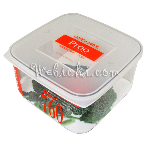 Takeya PROO ALPHA Food Container Pr-760 Microwavable / Freezable