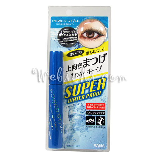 Sana POWER STYLE Mascara Swp Curl & Separate Strong Black