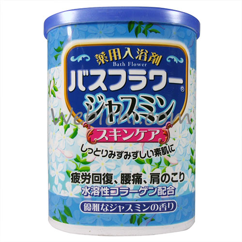 Health BATH FLOWER Bath Salt Jasmine