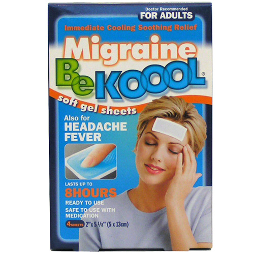 Kobayashi Hc BE KOOOL Soft Gel Sheets For Migraine 4sheets