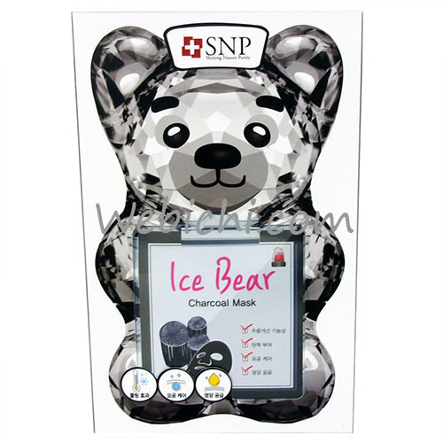 Sd Biotechnologies SNP  Ice Bear - Charcoal Mask