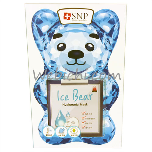 Sd Biotechnologies SNP  Ice Bear - Hyaluronic Mask